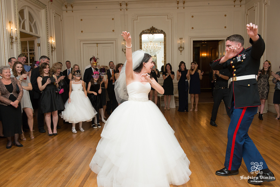 Halloween inspired Fall wedding with a Disney touch at Tupper Manor in Beverly MA