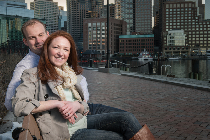 Boston Seaport District Engagement Session Locations at the World Trade Center and Fort Point