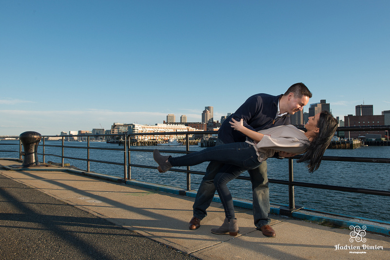 City Engagement Session in Charlestown