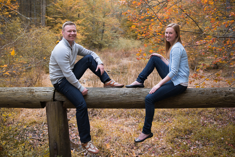 Boston Fall Engagement Photos at Middlesex Fells