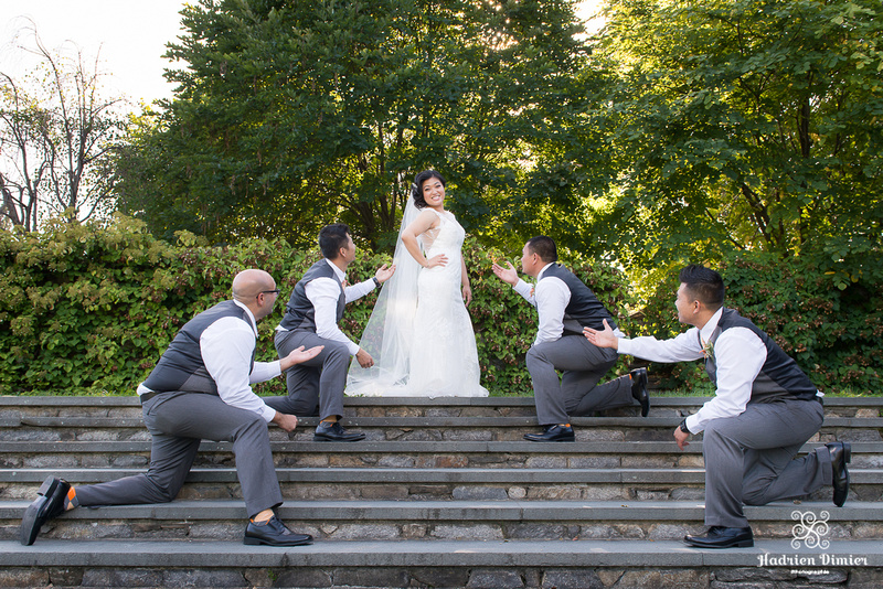 Harvard Arnold Arboretum Boston Wedding Photos
